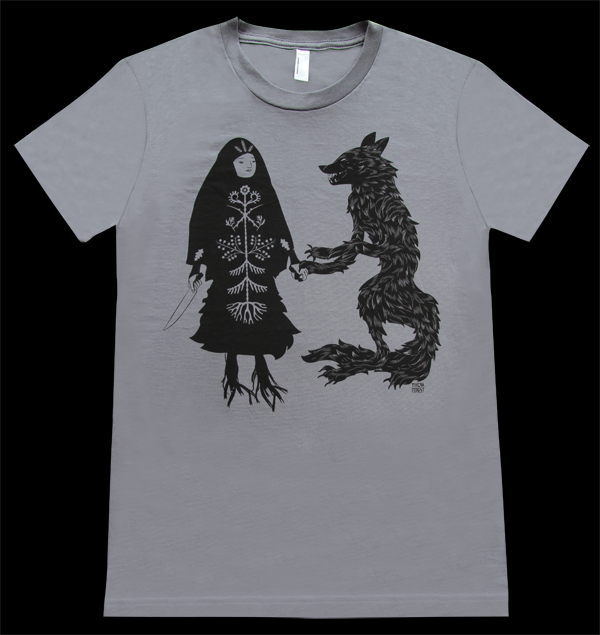 Baba and Wolf T Shirt