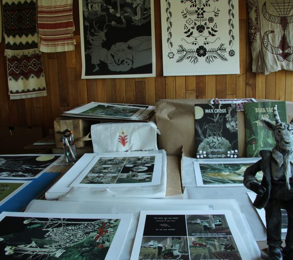 Tin Can Forest Print Shop