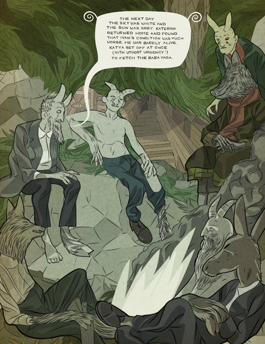 Tin Can Forest's Baba Yaga and the Wolf Page 16